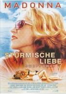Swept Away - German Movie Poster (xs thumbnail)