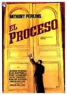 Le procès - Spanish Movie Poster (xs thumbnail)