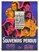 Souvenirs perdus - French Movie Poster (xs thumbnail)