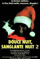 Silent Night, Deadly Night Part 2 - French Movie Poster (xs thumbnail)