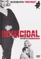 Homicidal - DVD cover (xs thumbnail)
