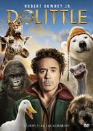 Dolittle - Czech DVD movie cover (xs thumbnail)