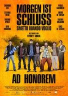 Smetto quando voglio: Ad honorem - German Movie Poster (xs thumbnail)