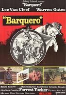 Barquero - Swedish Movie Poster (xs thumbnail)