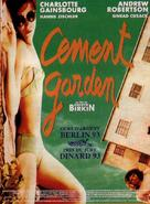The Cement Garden - French Movie Poster (xs thumbnail)