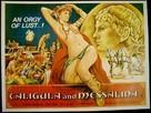 Caligula et Messaline - British Movie Poster (xs thumbnail)