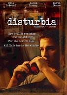 Disturbia - DVD cover (xs thumbnail)