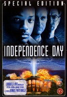 Independence Day - Danish DVD cover (xs thumbnail)