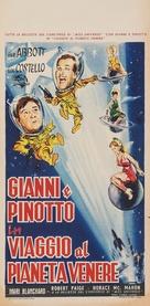 Abbott and Costello Go to Mars - Italian Movie Poster (xs thumbnail)
