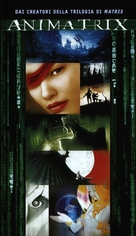 The Animatrix - Italian VHS cover (xs thumbnail)