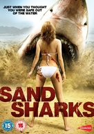 Sand Sharks - British DVD cover (xs thumbnail)