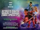 Scouts Guide to the Zombie Apocalypse - British Movie Poster (xs thumbnail)