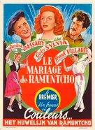 Le mariage de Ramuntcho - Belgian Movie Poster (xs thumbnail)