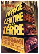Journey to the Center of the Earth - French Movie Poster (xs thumbnail)