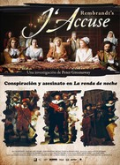 Rembrandt's J'accuse - Spanish Movie Poster (xs thumbnail)