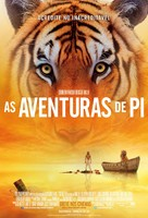 Life of Pi - Brazilian Movie Poster (xs thumbnail)