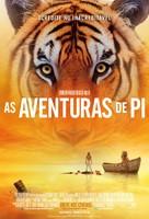 Life of Pi - Brazilian Movie Poster (xs thumbnail)