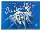One Dark Night - British Movie Poster (xs thumbnail)