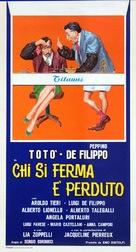 Chi si ferma è perduto - Italian Theatrical poster (xs thumbnail)