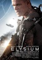 Elysium - Italian Movie Poster (xs thumbnail)
