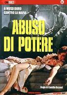 Abuso di potere - Italian DVD cover (xs thumbnail)