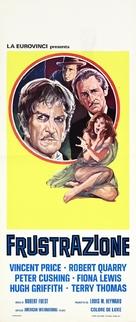 Dr. Phibes Rises Again - Italian Movie Poster (xs thumbnail)