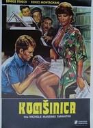 L'insegnante viene a casa - Yugoslav Movie Poster (xs thumbnail)