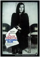 Die verlorene Ehre der Katharina Blum oder: Wie Gewalt entstehen und wohin sie führen kann - Spanish Movie Poster (xs thumbnail)