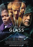 Glass - Swedish Movie Poster (xs thumbnail)