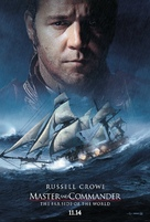 Master and Commander: The Far Side of the World - Teaser movie poster (xs thumbnail)
