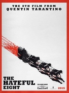 The Hateful Eight - Advance movie poster (xs thumbnail)