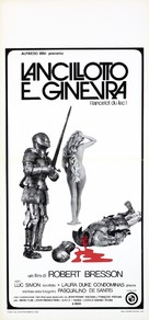 Lancelot du Lac - Italian Movie Poster (xs thumbnail)