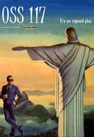 OSS 117: Rio ne repond plus - French poster (xs thumbnail)