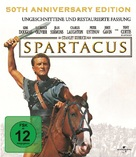 Spartacus - German Blu-Ray cover (xs thumbnail)