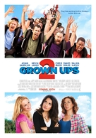 Grown Ups 2 - British Movie Poster (xs thumbnail)