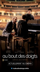 Au bout des doigts - French Movie Poster (xs thumbnail)