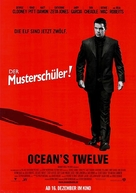 Ocean's Twelve - German Movie Poster (xs thumbnail)