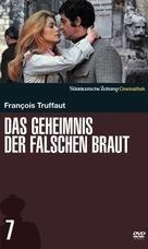 La sirène du Mississipi - German DVD cover (xs thumbnail)