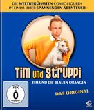 Tintin et les oranges bleues - German Blu-Ray cover (xs thumbnail)