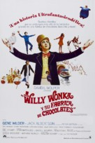 Willy Wonka & the Chocolate Factory - Puerto Rican Movie Poster (xs thumbnail)