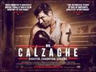 Mr Calzaghe - British Movie Poster (xs thumbnail)