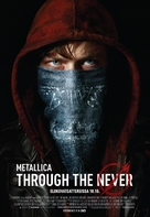 Metallica Through the Never - Finnish Movie Poster (xs thumbnail)