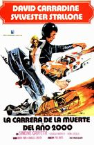 Death Race 2000 - Spanish Movie Poster (xs thumbnail)
