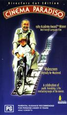 Nuovo cinema Paradiso - Australian Movie Cover (xs thumbnail)