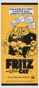 Fritz the Cat - Australian Movie Poster (xs thumbnail)