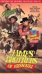 The James Brothers of Missouri - VHS cover (xs thumbnail)