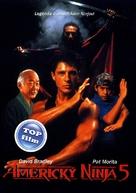 American Ninja V - Czech DVD cover (xs thumbnail)