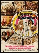 Les demoiselles de Rochefort - Dutch Movie Poster (xs thumbnail)