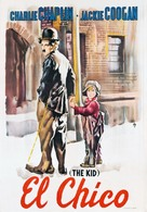 The Kid - Spanish Movie Poster (xs thumbnail)