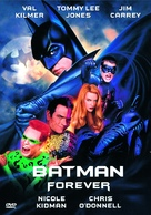 Batman Forever - DVD movie cover (xs thumbnail)